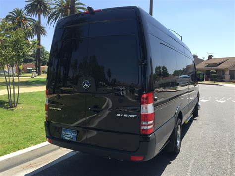 luxury minivan 2016 2016 mercedes benz sprinter luxury edition ebay