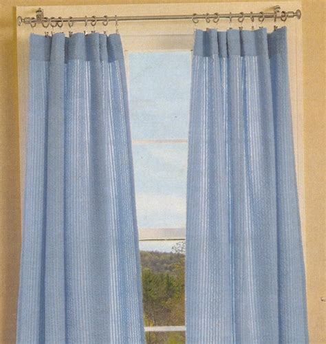 white seersucker curtains curtains drapes shades thecurtainshop com