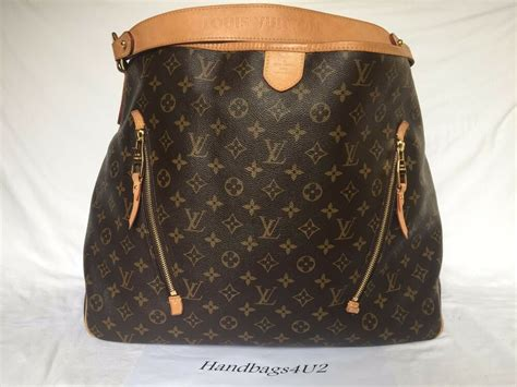 authentic louis vuitton monogram delightful gm hobo