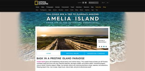National Geographic Sweepstakes - national geographic island adventure sweepstakes