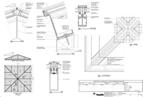Skylight Construction Drawing