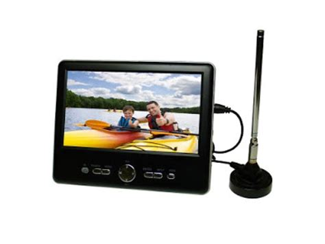 Haier Hlt71 7 Inch Handheld Lcd Tv 2009 Model