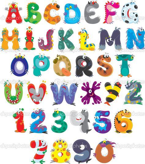 free printable monster alphabet letters isimlerin kadere etkisi zamazingo