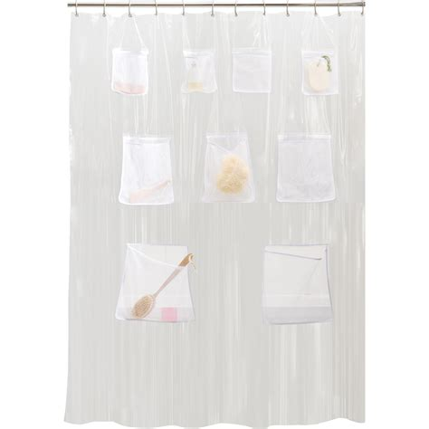 Shop style selections eva peva clear shower curtain at lowes com