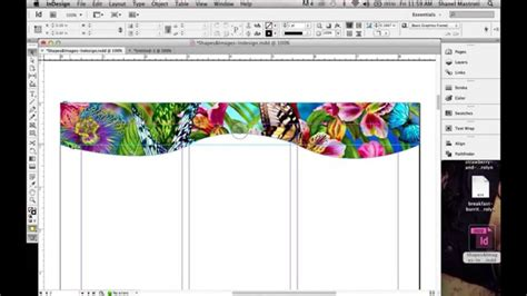 in design tutorial indonesia how to create a custom shape in indesign using the pen