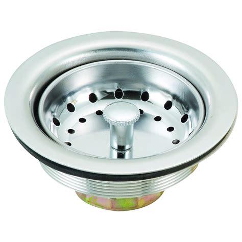 stainless steel sink basket stainless steel kitchen sink strainer with basket ebay