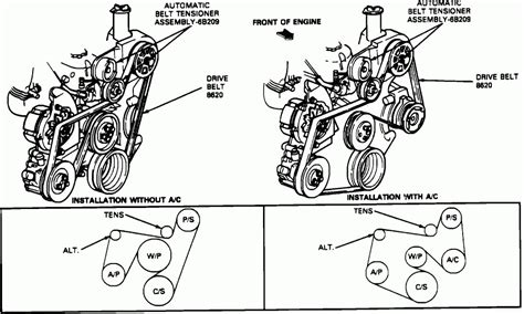 1990 Ford F150 Serpentine Belt Diagram 2007 ford f150 serpentine belt diagram auto engine and