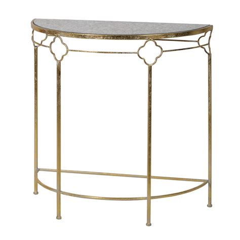 gold console table gold console table with glass top by out there interiors
