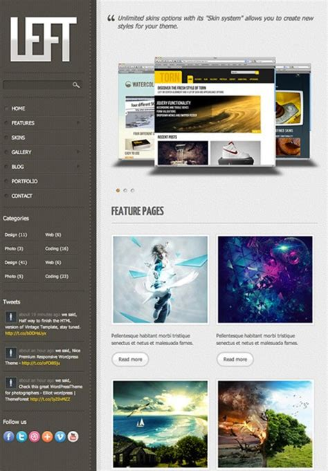 free html5 and css3 templates 4 free html5 and css3 templates you should see