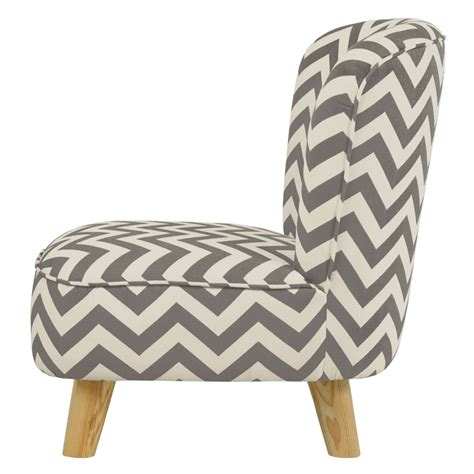 Grey Chevron Chair by Gray Chevron Pop Mini Chair By Babyletto Rosenberryrooms