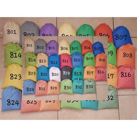 cat tembok kiloan standar  warna pilihan  kg shopee