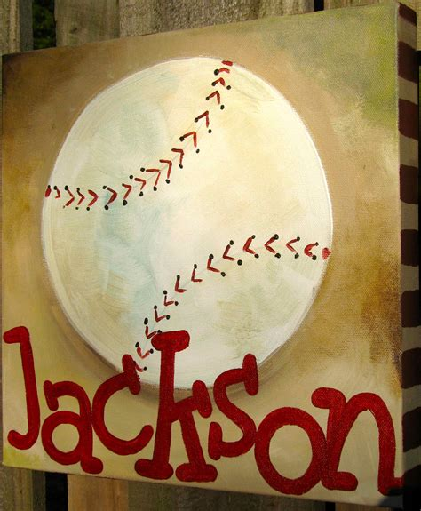 baseball canvas on baseball painting canvases