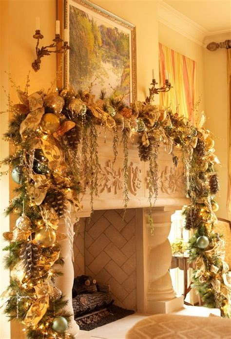 holiday fireplace mantel decorating ideas  home ideas hq