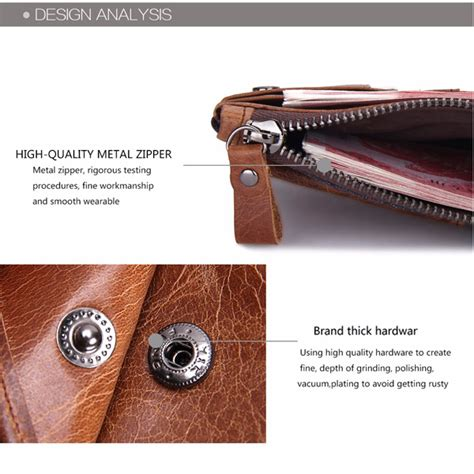 wallets holders brifold wallet genuine leather