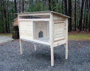 Rabbit Hutch Build How To Build A 5 Ft Rabbit Hutch Diy Wood Plans