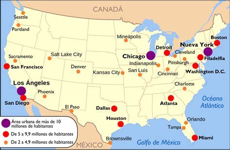 las ciudades m 225 s importantes de canad 225 ciudades de estados unidos wikipedia la enciclopedia libre