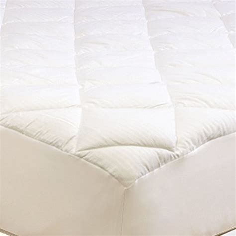 Hotel Bed Mattress Cover Size 100 Microgel A hotel luxury reserve collection 500 thread count 100 cotton mattress pad king size