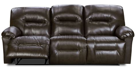 Bonded Leather Reclining Sofa Brown Bonded Leather Modern Reclining Sofa Loveseat Set