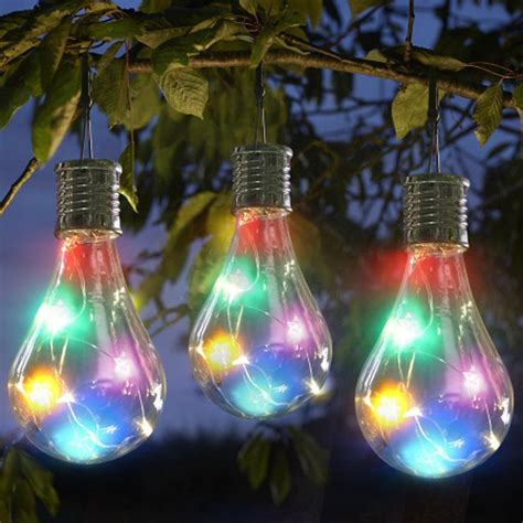 hot sale home garden solar light bulb waterproof solar