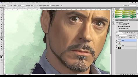 smudge painting photoshop tutorial ver 3 tutorial smudge art photoshop cc nueva versi 243 n youtube