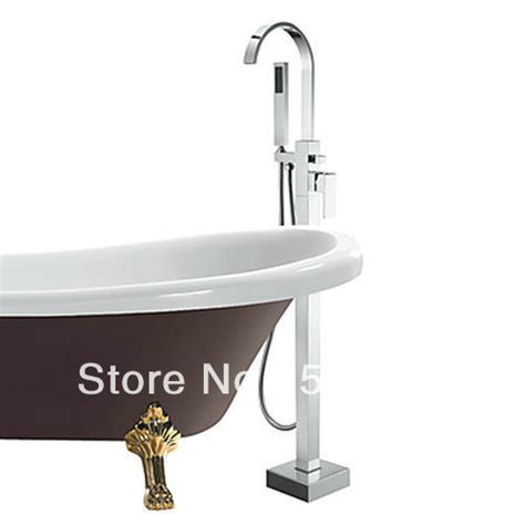 Bathtub Lever by New Bathroom Single Lever Brass Floor Mounted Bathtub