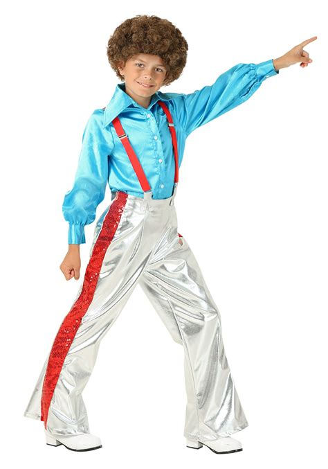 80s Accessories For Boys by Boy S Funky Disco Costume