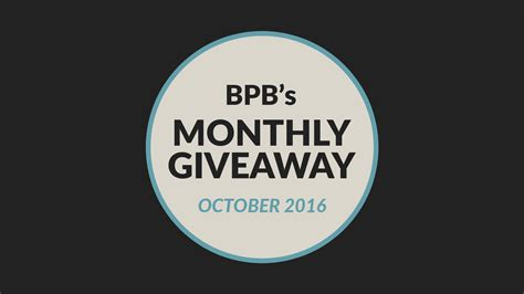 Monthly Giveaway - bpb monthly giveaway october 2016 bedroom producers blog