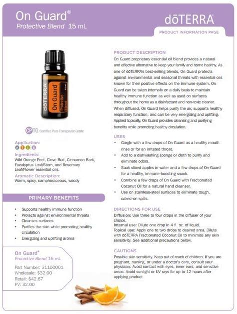 17 best ideas about doterra 17 best ideas about on guard oil on pinterest on guard