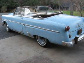 1954 ford sunliner convertible fairlane galaxie classic