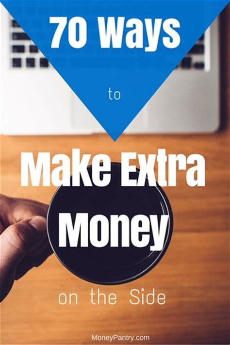 Making Money On The Side Online - 70 brilliant ways to make extra money on the side best work from home jobs online