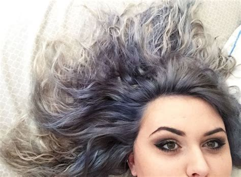 ion shark blue ion shark blue and titanium temporary hair dye hair
