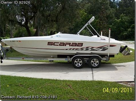 scarab boats vs chaparral 2002 wellcraft scarab sport wprocket