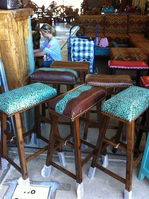 The Cowhide Store - western furniture turquoise and awesome on