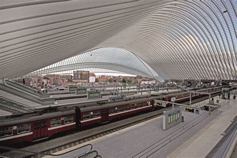 liege station li 200 ge guillemins station by calatrava