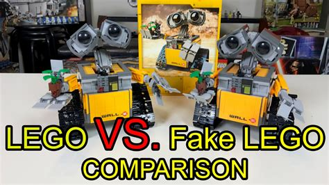 Lego Lele lego wall e vs lele wall e comparison review
