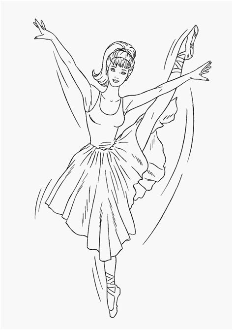 free barbie and horse coloring pages