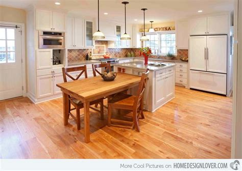 kitchen island with table attached 15 beautiful kitchen island with table attached
