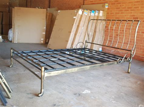 Iron Sleigh Bed Frames Made Classic Iron Sleigh Bed Frame Castings 002