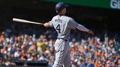 wil myers swing myers three run hr in 12th lifts padres over giants