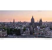 Amsterdam Skyline The Netherlands Stock Video Footage