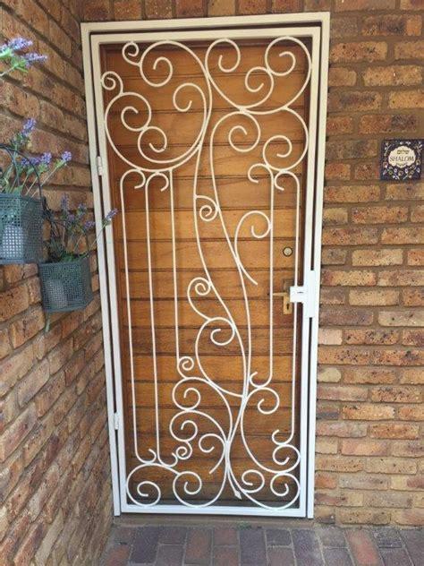 beautiful steel security gate  exclusivio wrought iron
