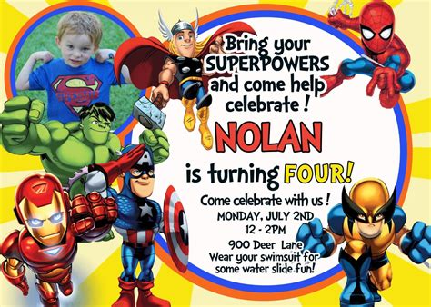 avengers template for birthday invitation avengers birthday invitation disneyforever hd