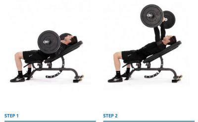 incline bench press form shoulders gymguider com