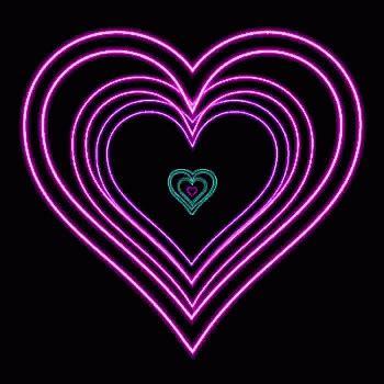 Pole Lights Neon Heart Gif Neon Heart Discover Amp Share Gifs