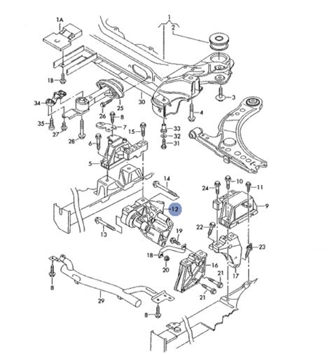 car engine manuals 2003 volkswagen golf spare parts catalogs motor support console support for vw bora golf 4 skoda octavia seat leon toledo ref