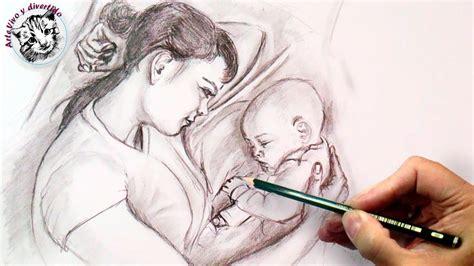 imagenes a lapiz para una madre como dibujar el amor incondicional tecnica de dibujo a