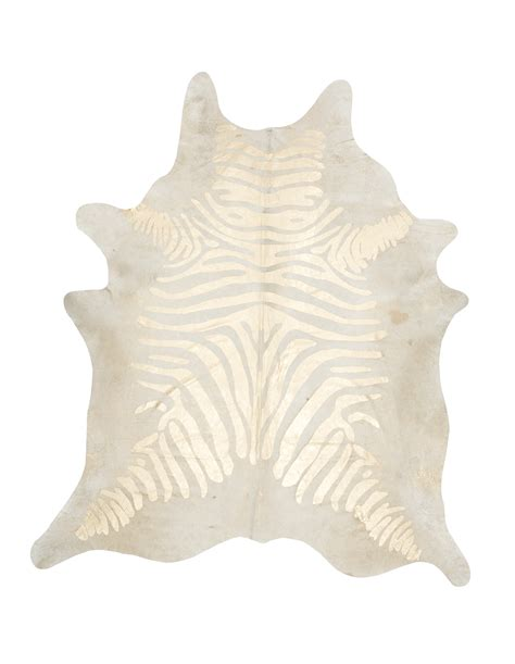 Gold Cowhide Featured On Houzz All Things Zebra Moss Manor