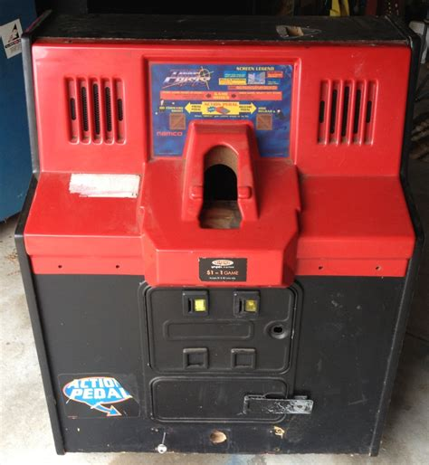 namco time crisis empty arcade machine shooter cabinet 50