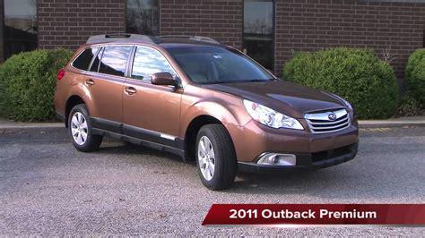 Subaru Outback Comparison by 2011 Subaru Outback Model Comparison