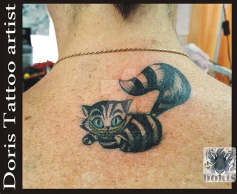 cat tattoo deviantart cheshire cat tattoo by doristattoo on deviantart